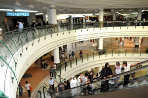 The City Centre Mall in Doha, Qatar, June 19, 2009.