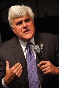 Leno Brings Comedy to Carson