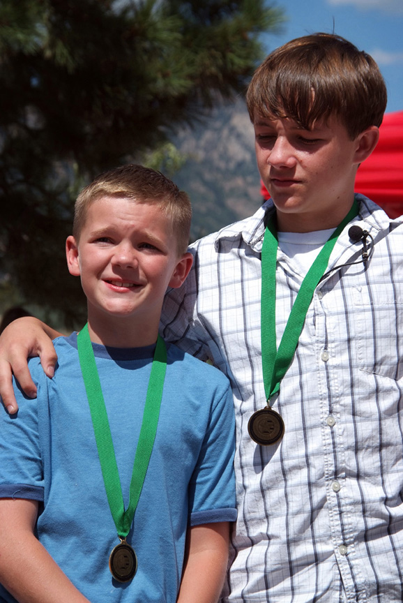 Children of Fallen Honored at Carson