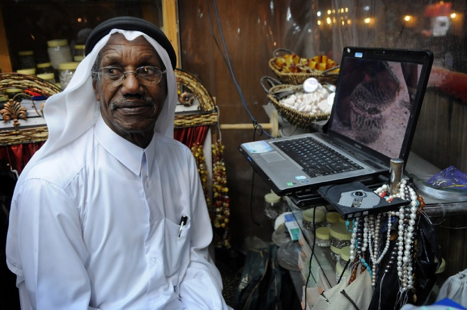 Qatar's Old Pearl Diver