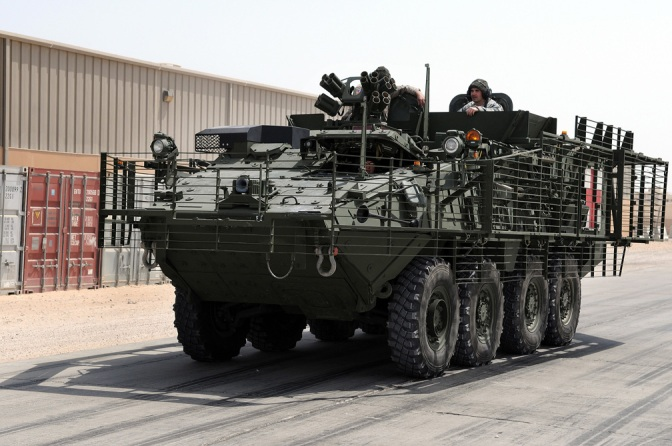 Stryker Armored Combat Vehicle