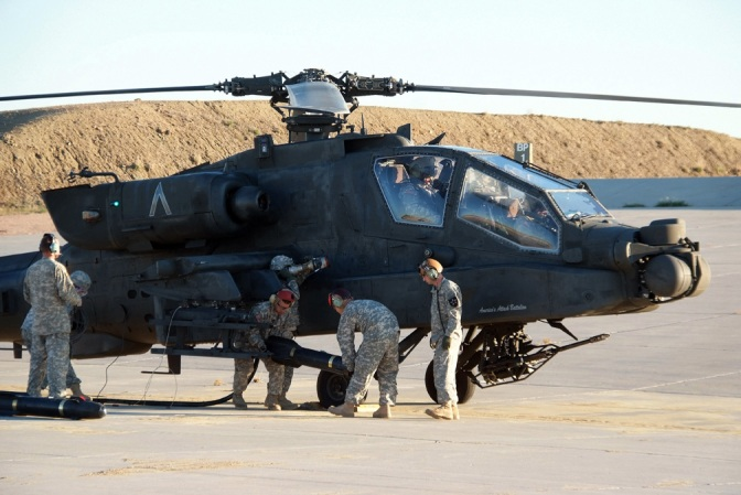 Apache Battalion Proves Combat Readiness