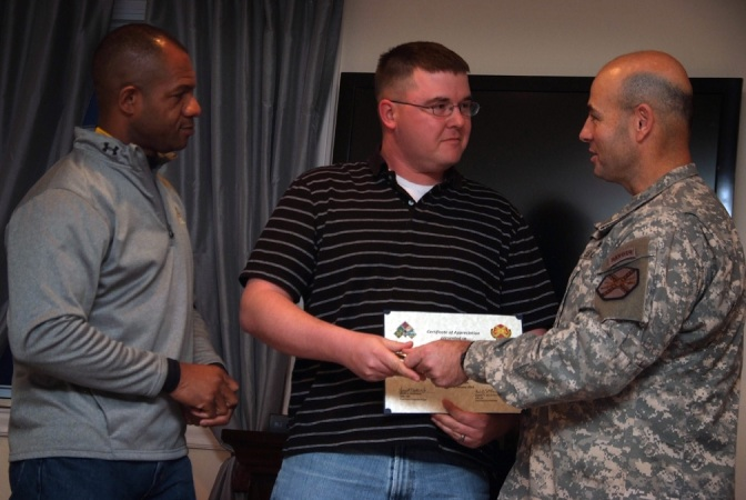 TAPS Honors Soldiers for Mentoring