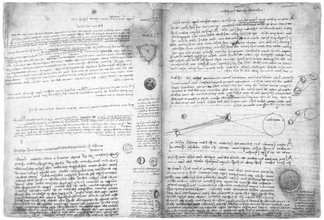 Leonardo Da Vinci's Codex Leicester