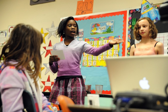 Fifth Graders Find Ways to Improve Community