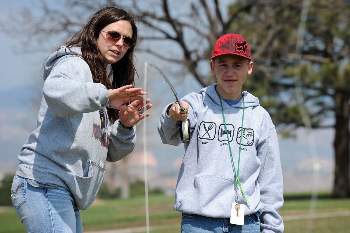 Fishing Event Gives Special Needs Students Lifetime Activity